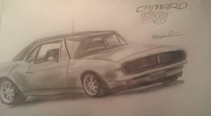 1967 Chevrolet Camaro SS by Gaming-Master