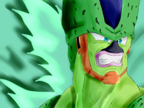 2nd form Cell yea by smsjgoku