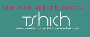 tSHiCHPACk by SweetPhotoEdition