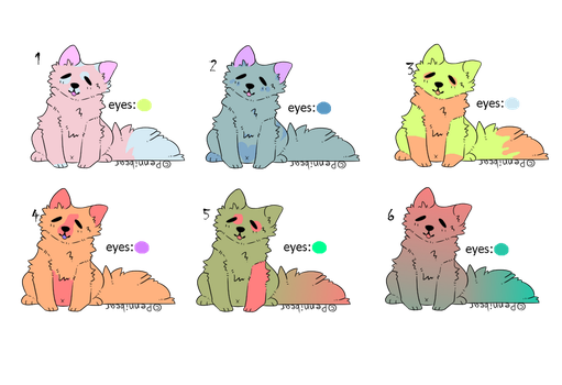 10 point puppy adopts by TheAmazingCookie1112