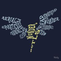 Wonderbolts typography by NolyCS