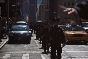 OWS Police Follow Protestors by TimberClipse