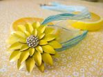 Necklace: Sunflower Dreams by nikkifaith
