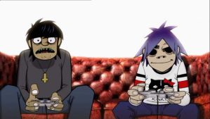 Gorillaz by BrokenBabe