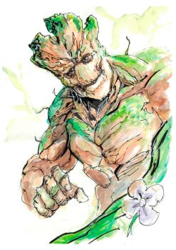 Groot by polacostyle