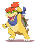 Preteen Bowser Jr. by faster-by-choice