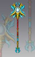 Epic Magic Staff Weapon Adopt (closed) by Nano-Core