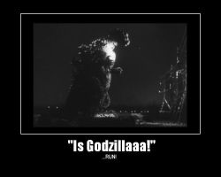 Is Godzilla by TheHande