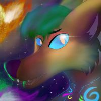 Solar Flare (Speed-paint) by NadiaWolf240