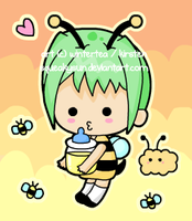 Honey Bee by SqueakyToybox