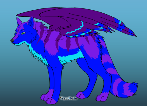 New Wolf OC- Moonstar by Coraline15