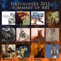 2o11 Summary of Art by 1skylight1
