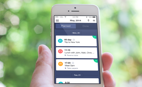Schedule Planner 2.0 for iPhone by ifeell