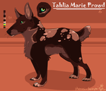 Tahlia Art Contest Entry by Kenny-BS