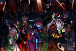 Gotham's Rogue Gallery by BlackEasterling