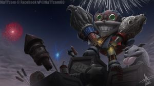 Riot Games - Independence Day Art Contest by MaTTcomGO