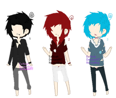 Color Adopts set 2 (closed) by Ex-Noah