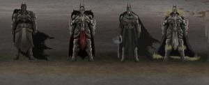Medieval Batman Costume by elartwyne