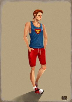 Superman by daphies