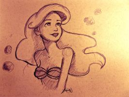Ariel by QuantumGinger