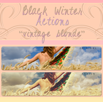Black Winter Actions - Vintage Blonde by blackxwinter