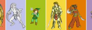 Hyrule Races by LicaWolf