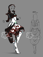 Fantasy Dress Design - sold by Nahemii-san