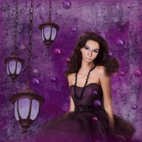Mysterious Violet by RossLana