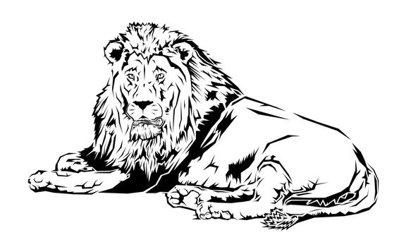 Lion Design by Tharsius