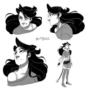 oc sketches by BabaKinkin