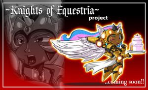 Mlp KNIGHTS OF EQUESTRIA : Princess Celestia by ShoNuff44
