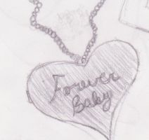 Forever Baby Necklace by rockingchick1