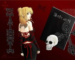 Misa Amane from Death Note by RockGirlCata