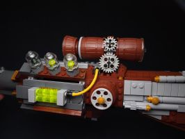 LEGO. Gun Left side by DwalinF