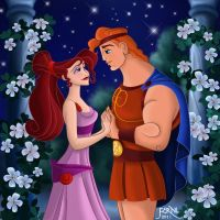 HERC AND MEG by FERNL