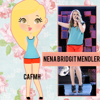 Nena Bridgit Mendler by ComeAndFixMyHeart