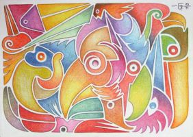 Sketchbook 10 Eleven Birds by Jose-Garel-Alvoeiro