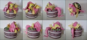 FOR SALE Handmade Flutterbat Sculpture by Letquestria