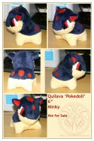 Plush - Quilava by RadiantGlyph