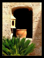 Window in Valldemossa - Mallorca by skarzynscy