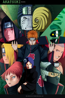 Akatsuki Tribute Collab by valvicto4