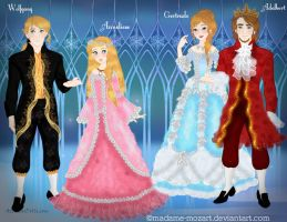 :: Rococo OCs Revamped :: by Madame-Mozart