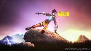 [Overwatch] Tracer by Trycon1980