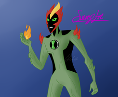 Swampfire by RexFangirl