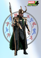 Loki - Marvel vs. Capcom 4 by DENDEROTTO