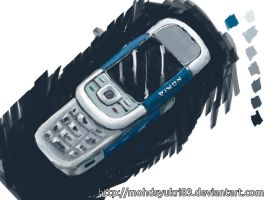 Quick painting - Nokia 5300 by mohdsyukri83