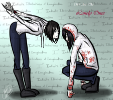 Jeffy and Jeff the Killer - We Are The Lonely Ones by I3-byUsagi