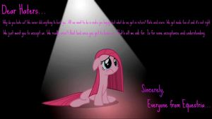 For all the MLP:FiM Haters Out There by JessicaBane501