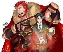 Rider and Waver (Revisit) by hentist