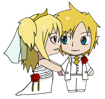 Request - Wedding Day: Link and Lucy by CandyAddict774